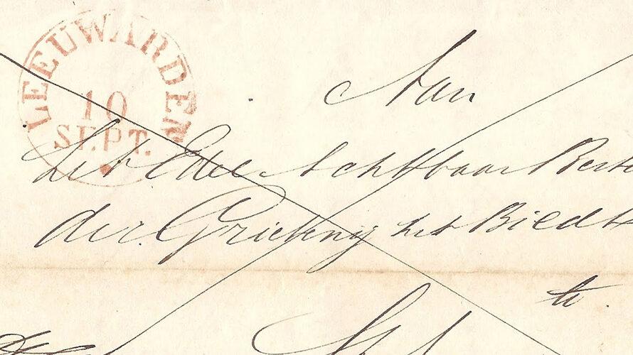 Leeuwarden – Sint Annaparochie 1844