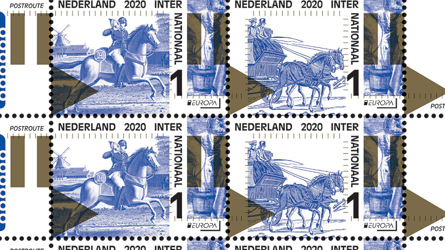 Old postal routes