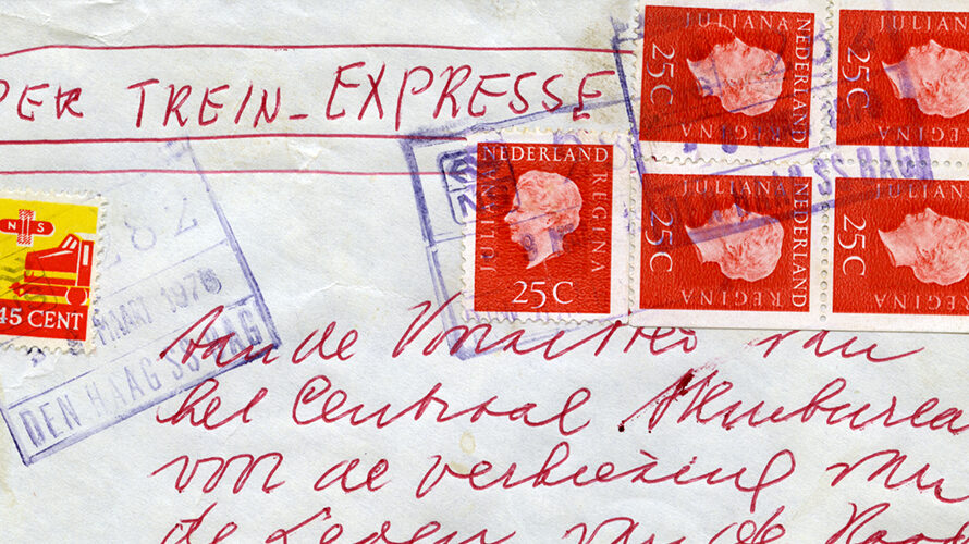 Railway stamps