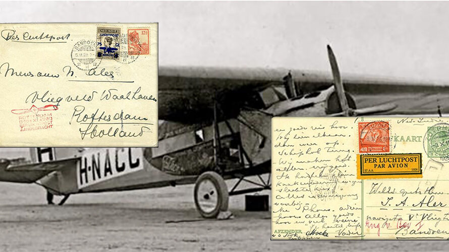 A 1928 Airmail Flight to and from the DEI and the Associated Airmail Stamps