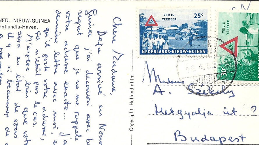 Manokwari to Budapest – Netherlands New Guinea