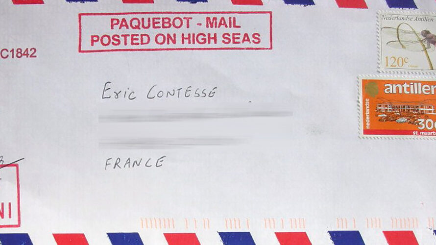 My first Paquebot Mails
