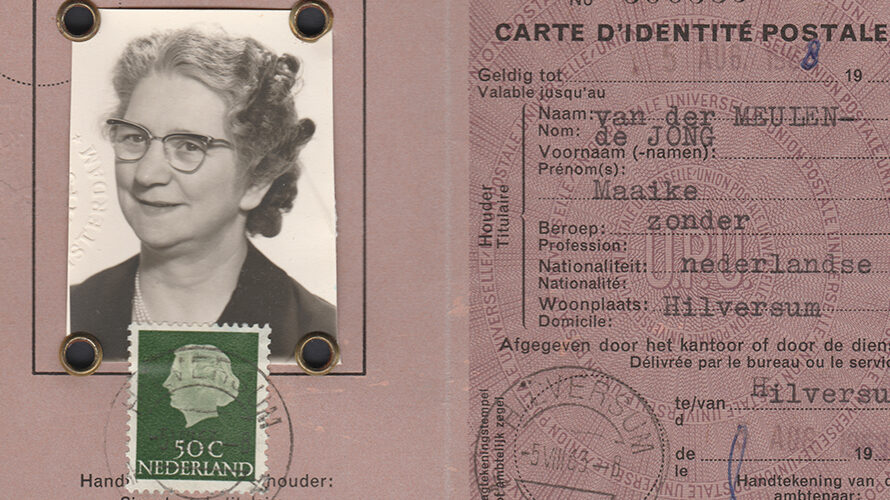 Postal identity cards