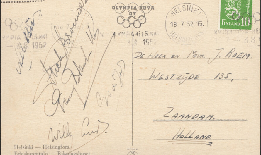 Summer Olympics Helsinki 1952
